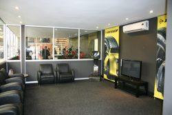 Partitions And Aluminium Doors At Dunlop Pietermaritzburg