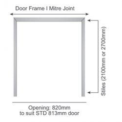 Prefab Double Doorframe I