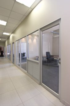 Aluminium Opening Doors For Office Partitions