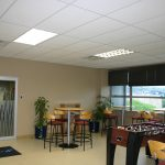 Econocal White Silicate Ceiling Tile Solution