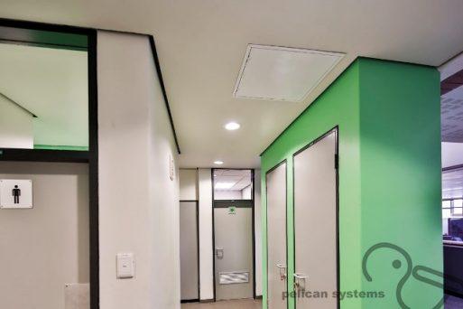 JUMBO Firewall Drywall Plasterboard Installation