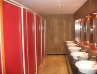 T1 Framed Toilet Partition