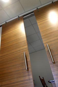 Sliding Timber Door Installation