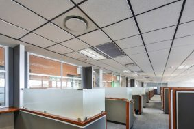 Suspended Ceiling with econogrid and AMF