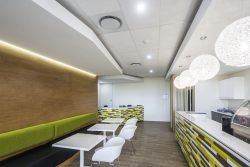 Suspended Ceilings with Bulkheads