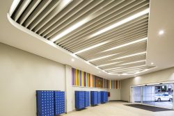Baffle Ceilings ideal for Accoustics in Shopping Centres