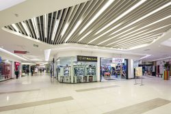 Baffle Ceiling Designs for Retail Ceilings