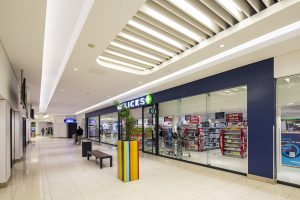 Baffle Ceilings for Retail