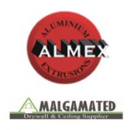 Logos for Almex and Amalgamated