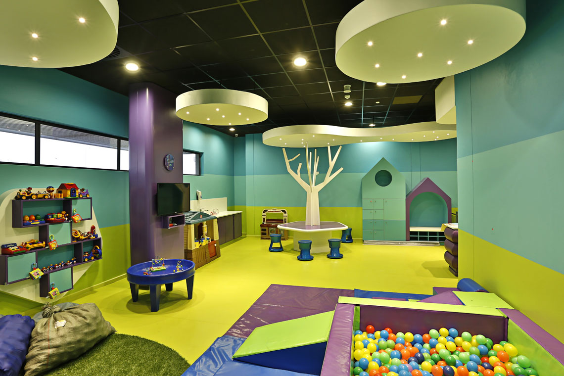 Image from Virgin Active Ballito of Ceiling Rafts
