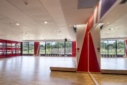 Bulkheads and Suspended Ceilings at Virgin Active Hillcrest Studios