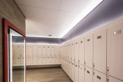 Ceilings at Virgin Active Hillcrest Change Room Area
