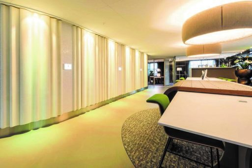 Curtain Profiles with Indirect Lighting
