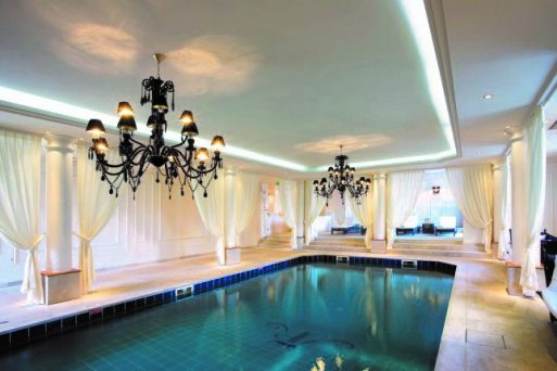 Indirect Lighting Profiles - Pool area