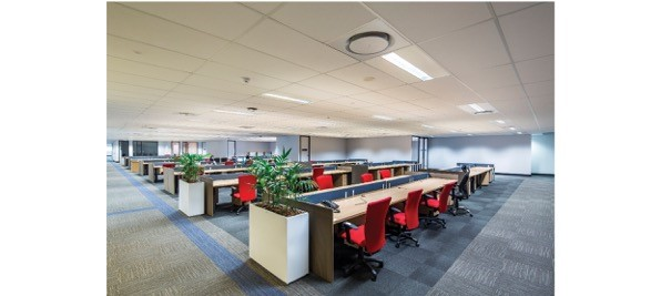 Suspended Ceilings in Commercial Office Call Centre