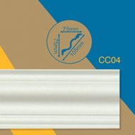 Contractors Choice CC4 75x75mm Cornice