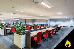Fire Resistant Ceilings In An Office