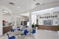 KwaDukuza Private Hospital Reception And Cafe' Area