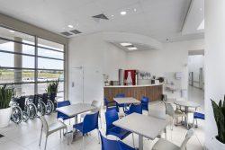 KwaDukuza Private Hospital Cafe' Area And Entrance