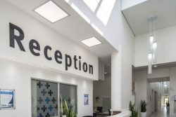 KwaDukuza Private Hospital Reception Area