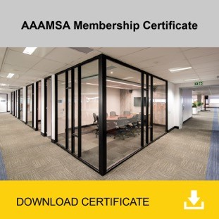 AAAMSA Membership Certificate