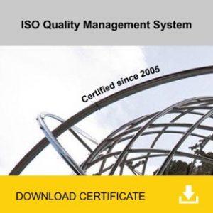 ISO Quality Management System Cerification