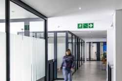 90mm Drywalls And Flush Plaster Ceilings For Commercial Offices At Bidvest Panalpina Logistics
