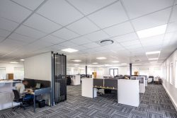 Acoustic Ceiling At Bidvest Panalpina Logistics With Econogrid And AMF Star