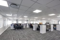 Acoustic Ceilings At Bidvest Panalpina Logistics Using Econogrid And AMF Star
