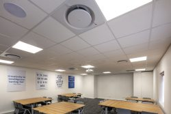 Acoustic Ceilings For Bidvest Panalpina Logistics Commercial Offices Using Econogrid And AMF Star