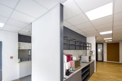 Ceilings And Partitions In A Commercial Office Refurbishment For Bidvest Panalpina Logistics