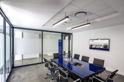 Flush Plastered And Suspended Ceilings For Boardrooms At Bidvest Panalpina Logistics