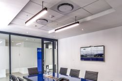 Flush Plastered And Suspended Ceilings For Boardrooms Installed At Bidvest Panalpina Logistics