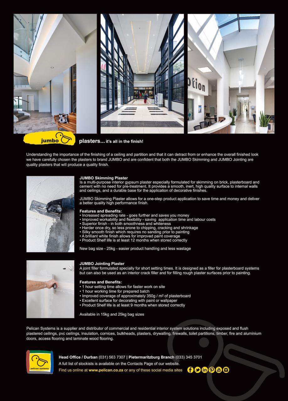 Jumbo Plasters Advert Earthworks Magazine