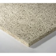 AMF Heradesign Micro an accoustic tile for a suspended ceiling made from Wood Wool fibres
