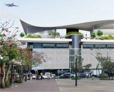 King Shaka International Airport Exterior
