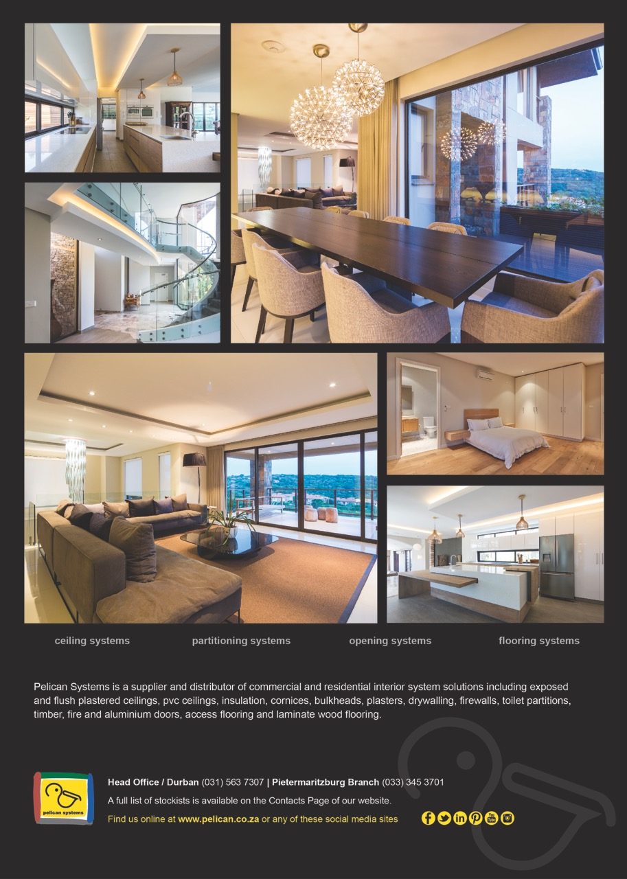Pelican Systems advert in Decor and Design 2018 Edition