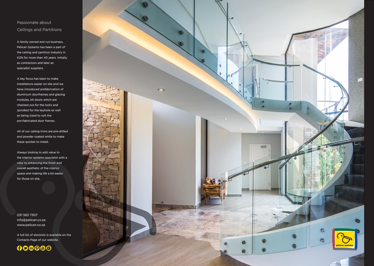 Pelican Systems advert in 2019 Edition Decor and Design