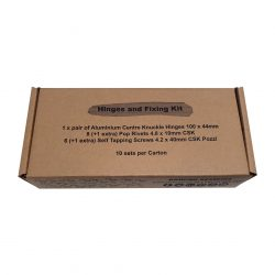 Hinges and Fixing Kit Carton of 10