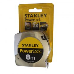 Stanley Tape Measure Powerlock feature 8m x 25mm