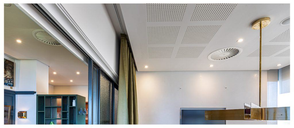 Perforated Plasterboard used for Acoustics